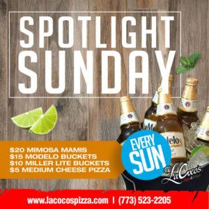 LaCoco's Sunday Specials
