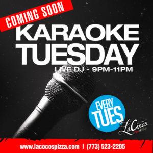 Karaoke Tuesday - LaCoco's Pizza